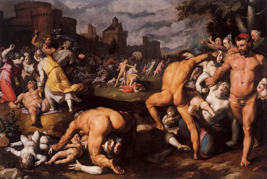 Корнелис Корнелиссен. 1590-е.